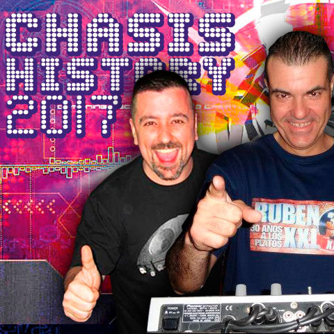 Ruben XXL & Xavi BCN@Chasis History (Junio 2017 - Terrassa)