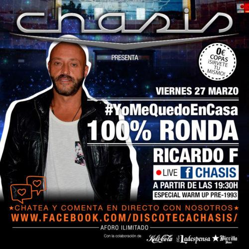 #YoMeQuedoEnCasa - CHASIS 100x100 Ronda - Ricardo F