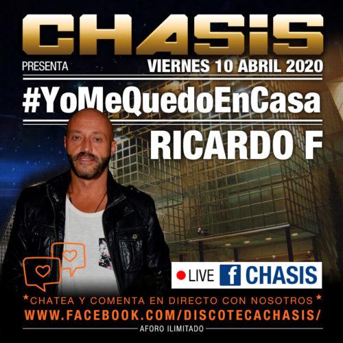 Chasis #YoMeQuedoEnCasa - Live - 10-abril-2020 - Ricardo F